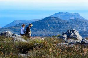 Topo da Table Mountain