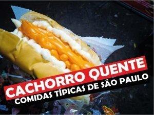 Cachorro Quente - Comida Tipica de São Paulo