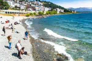 Praia de Agua doce em Bariloche