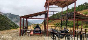 Viajar de Moto para a Bolívia - acampando no mirador